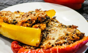 Low Carb Vegetarian Stuffed Peppers – Low Carb And Vegetarian Recipes