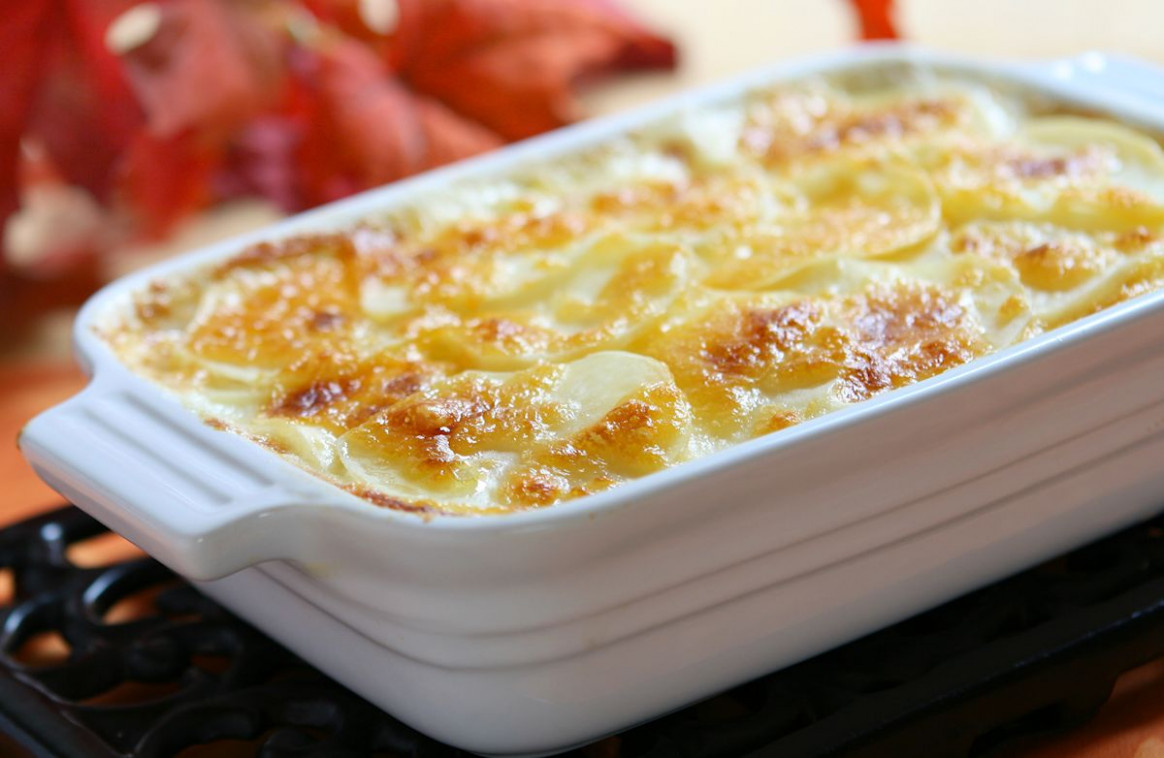 Low Cholesterol Scalloped Potatoes Recipe - low cholesterol recipes chicken