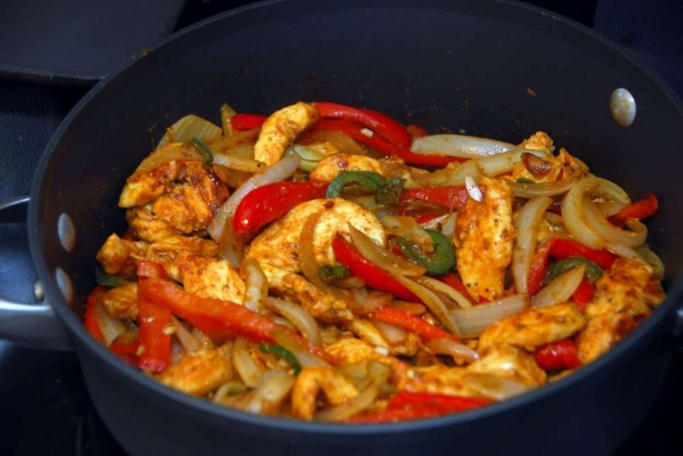 Low-Fat Chicken Fajitas - chicken recipes low fat