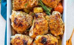 Low FODMAP Maple Mustard Chicken With Rosemary – A Saucy ..