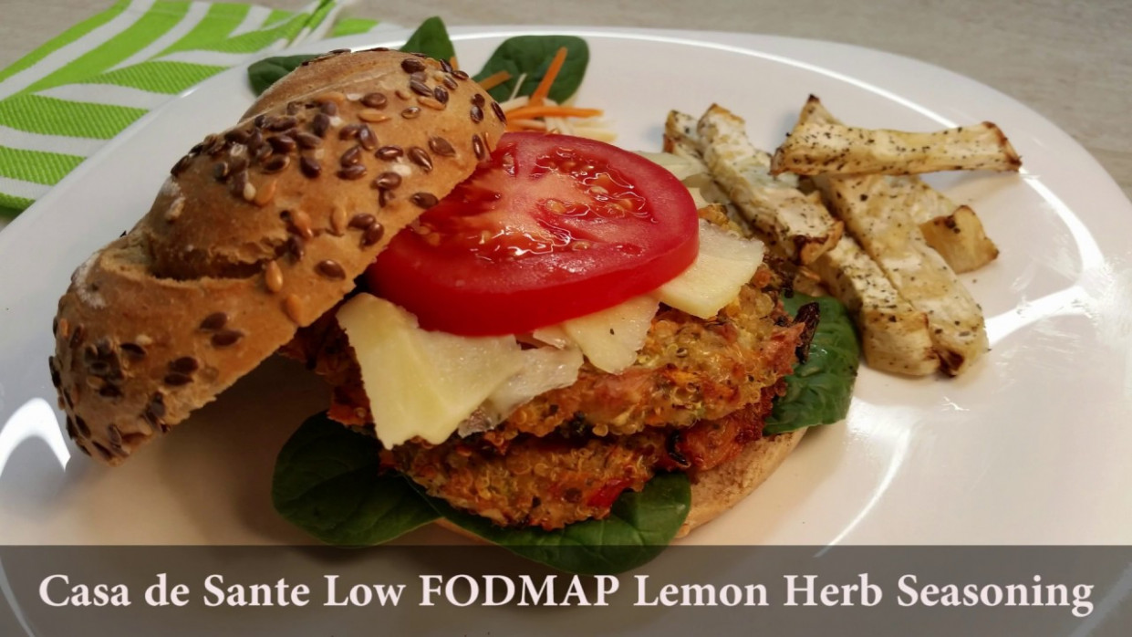 Low FODMAP Vegetarian Burger - YouTube - fodmap recipes vegetarian