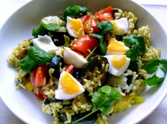 Low FODMAP Vegetarian Kedgeree .. anyone for vegeree ..