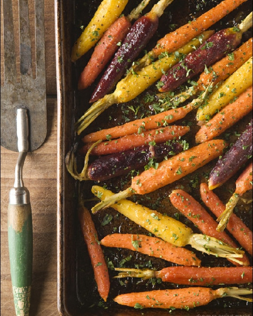 Low FODMAP Vegetarian Recipes- Ginger-glazed carrots - fodmap recipes vegetarian