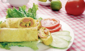 Lowcarb Breakfast With Cheese Egg Roll – Dinner Recipes Diet