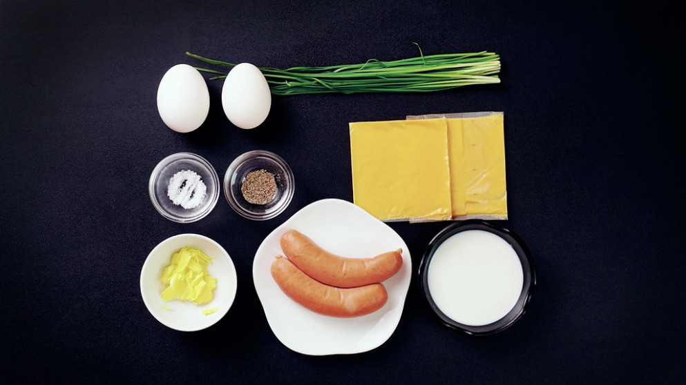 Lowcarb Breakfast with Cheese Egg Roll - recipes easy to make for dinner