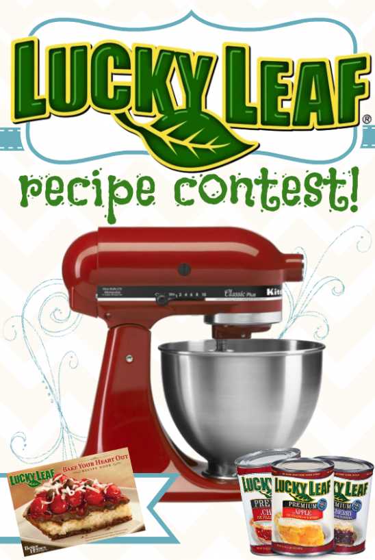 Lucky Leaf Recipe Contest {KitchenAid Mixer Grand Prize ..
