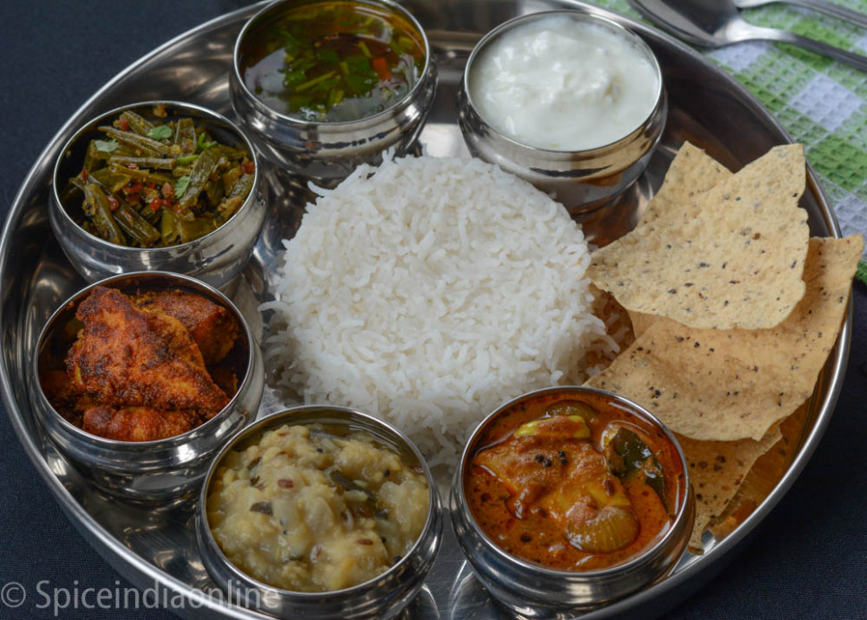 LUNCH / DINNER MENU 2 – SOUTH INDIAN NON-VEGETARIAN LUNCH ..
