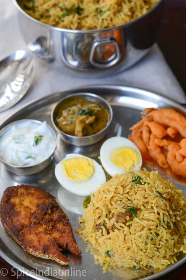 Lunch / Dinner Menu 3 - South Indian Non Vegetarian Lunch ..