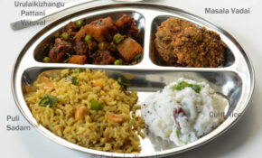 Lunch / Dinner Menu 6 – South Indian Vegetarian Lunch Menu ..