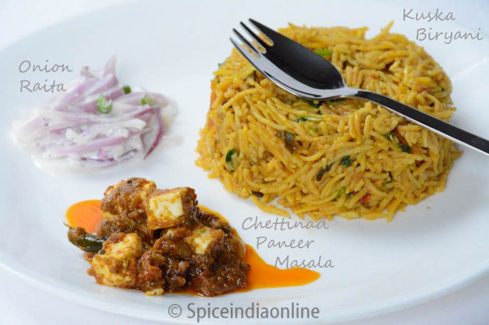 Lunch / Dinner Menu 7 – South Indian Vegetarian Lunch Menu ..