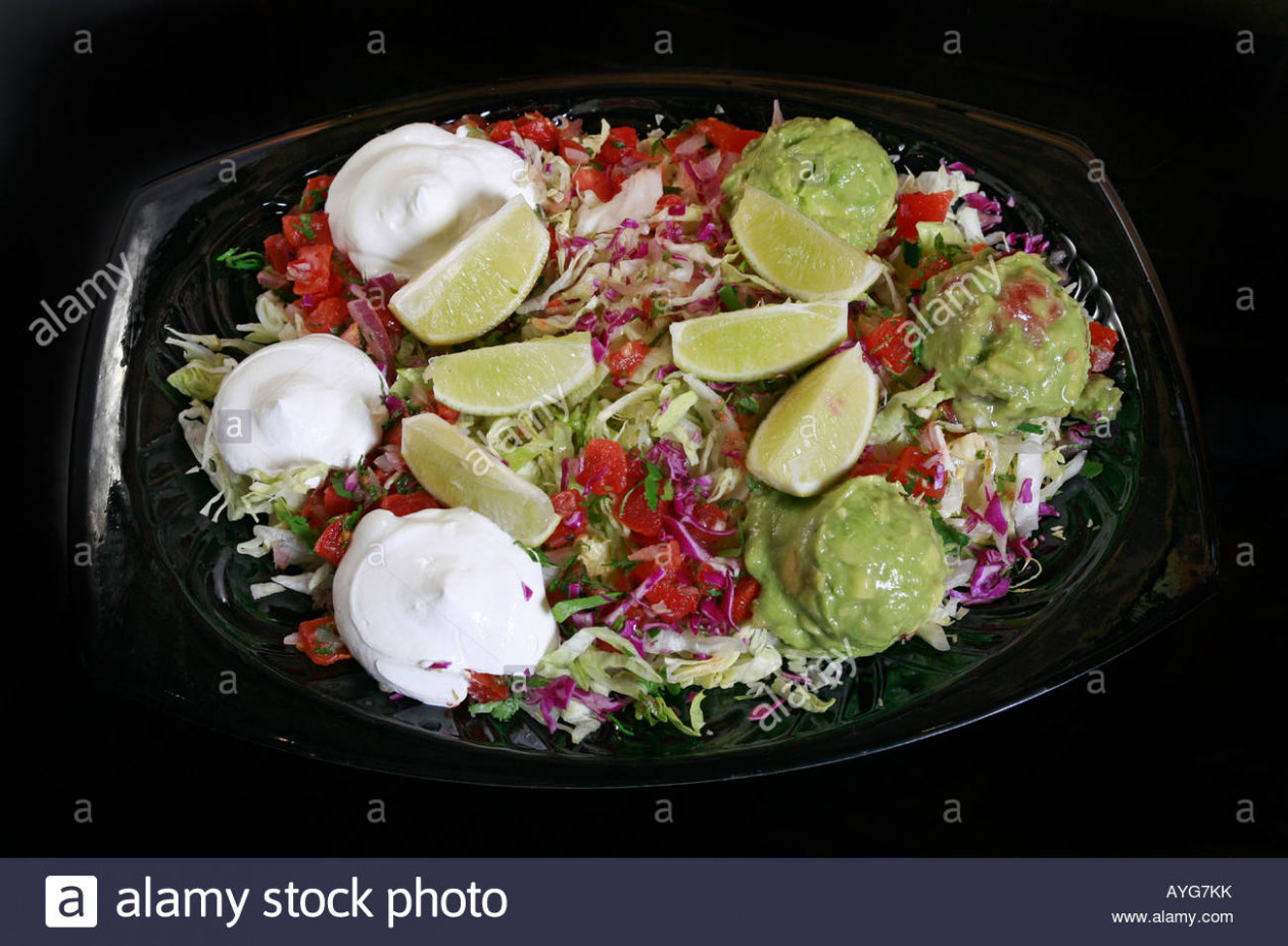 lunch dinner plate Mexican food Stock Photo: 14 - Alamy - mexican recipes dinner