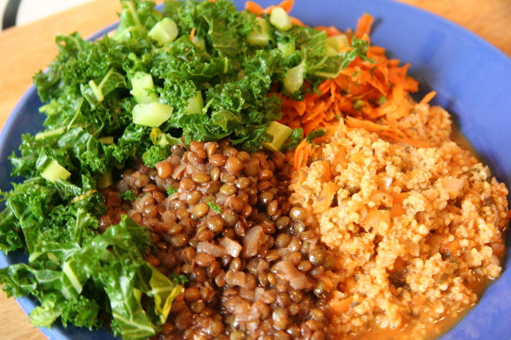 Lunch of Deliciousness - jewish recipes vegetarian