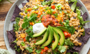 Macho Mac And Cheese Nachos – Dinner Recipes Easy Vegetarian