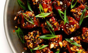 Magic Garlicky Tofu | Gimme Some Oven – Recipes With Tofu Healthy