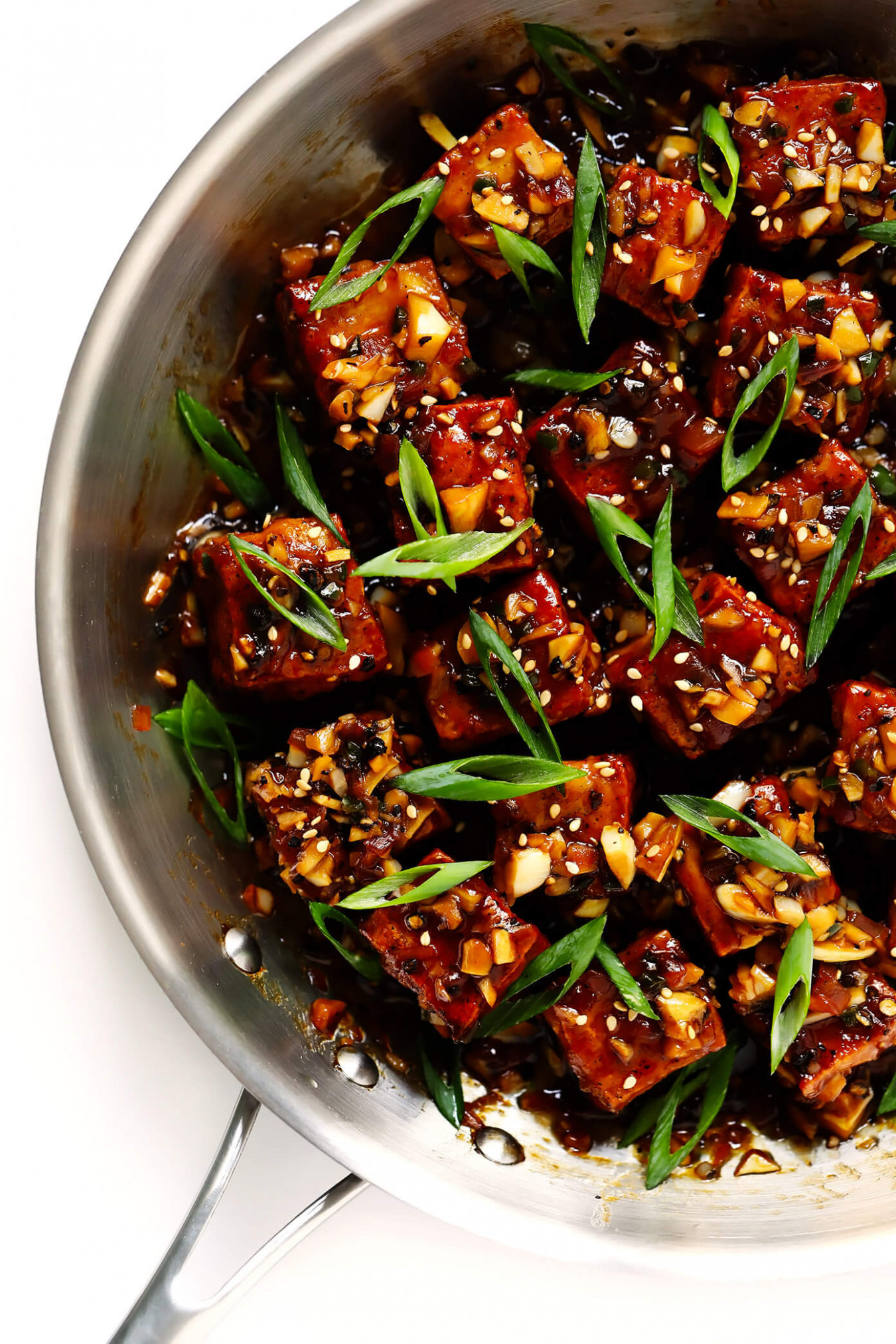Magic Garlicky Tofu | Gimme Some Oven - recipes with tofu healthy