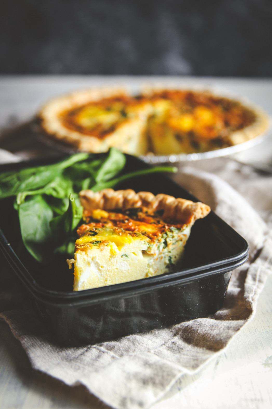 Make Ahead Freezer Meals Quiche Recipe - Sweetphi - Dinner Recipes You Can Prepare In Advance