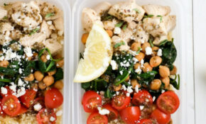 Make Ahead Lunch Bowls: Greek Chicken & Veggies | Healthy ..