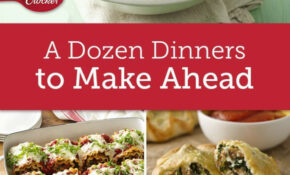 Make Ahead Meals To Stock Your Fridge & Freezer | Make Ahead ..