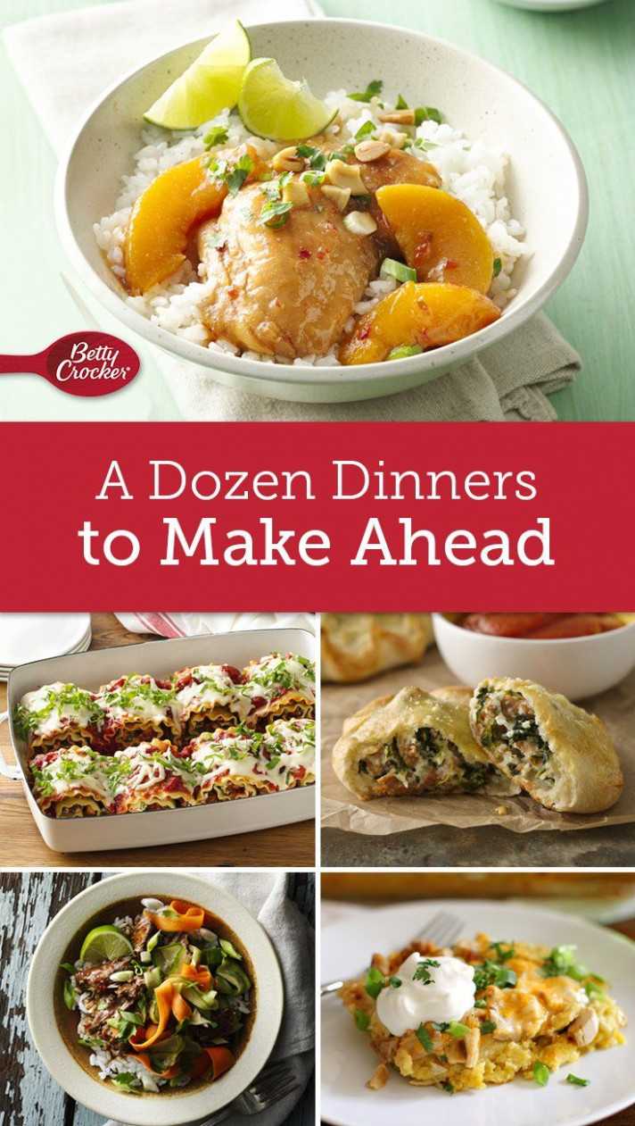 Make-Ahead Meals to Stock Your Fridge & Freezer | Make-Ahead ..