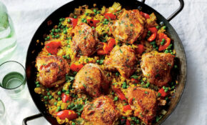 Make Chicken Paella in Under an Hour