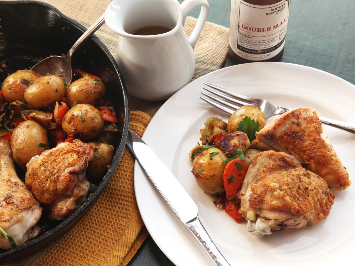 Make This Crisp-Skinned Chicken and Roast Vegetables in One ..