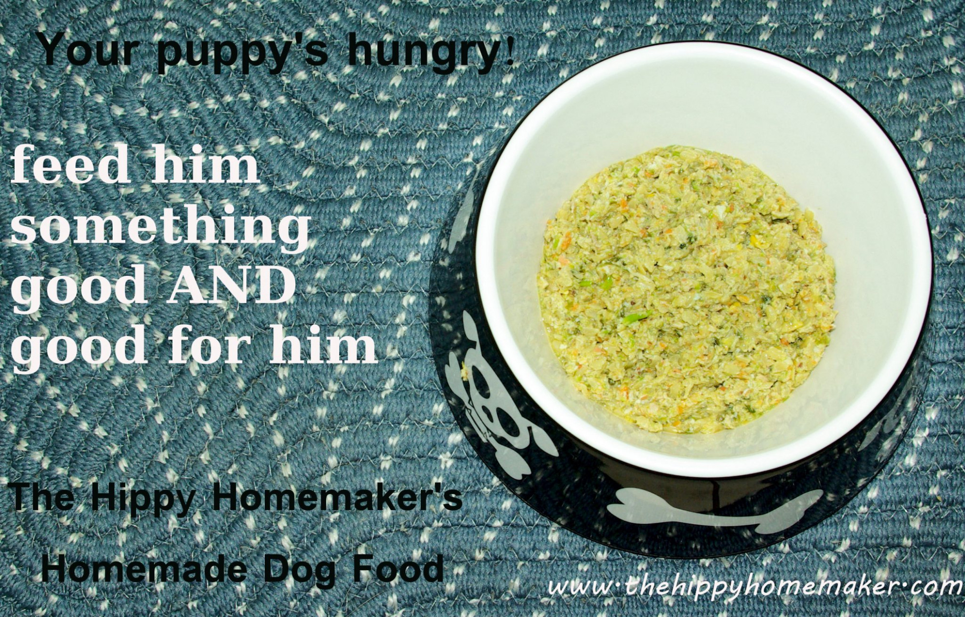 Make Your Own Dog Food and Your Dog Will Thank You EVERY ..