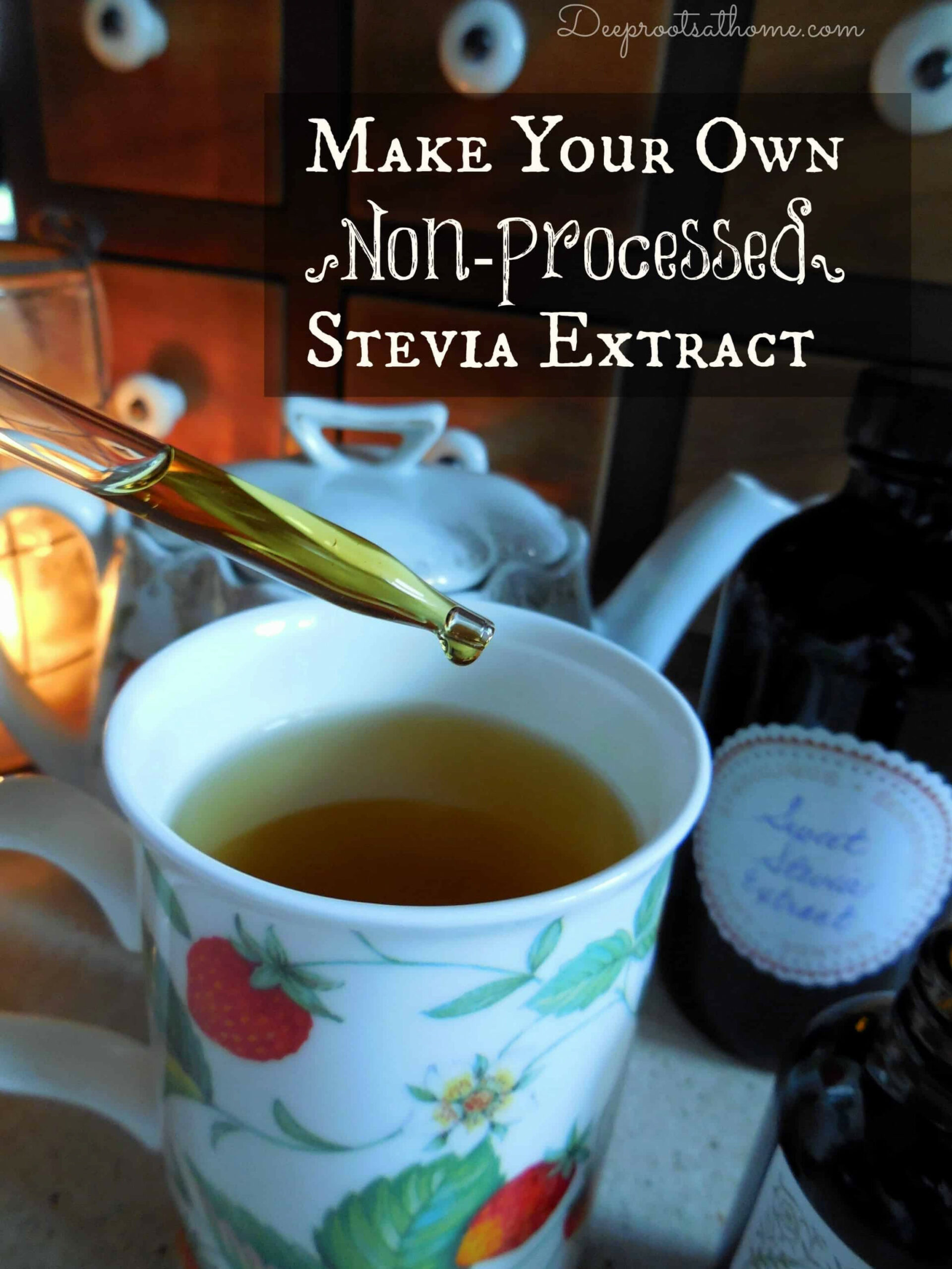 Make Your Own Non-Processed Stevia Extract & Why I Do It - recipes no processed food