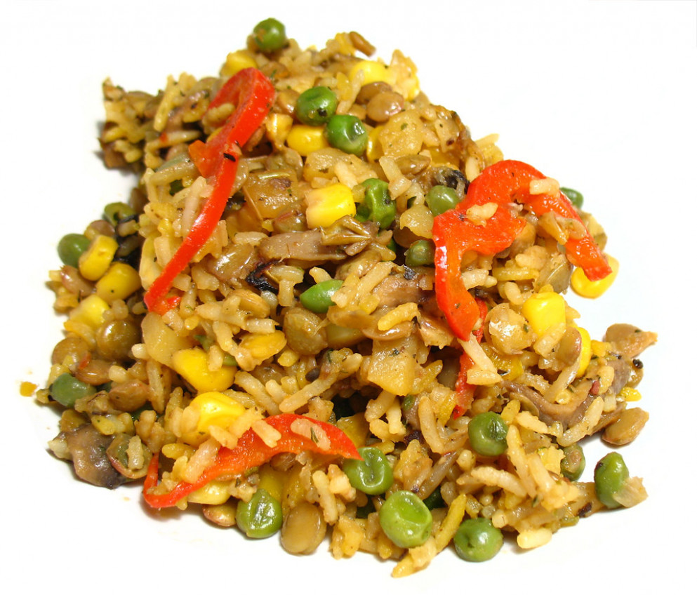 Making LUNCH out of nothing at all - vegetarian recipes you can add meat to