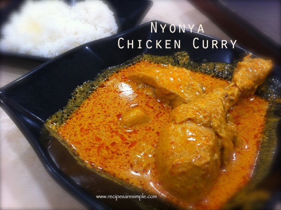 malaysian chicken curry nyonya recipe - Recipes 'R' Simple - egg noodle recipes vegetarian