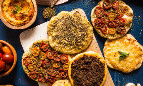 Manakish (Middle Eastern Pizzas)