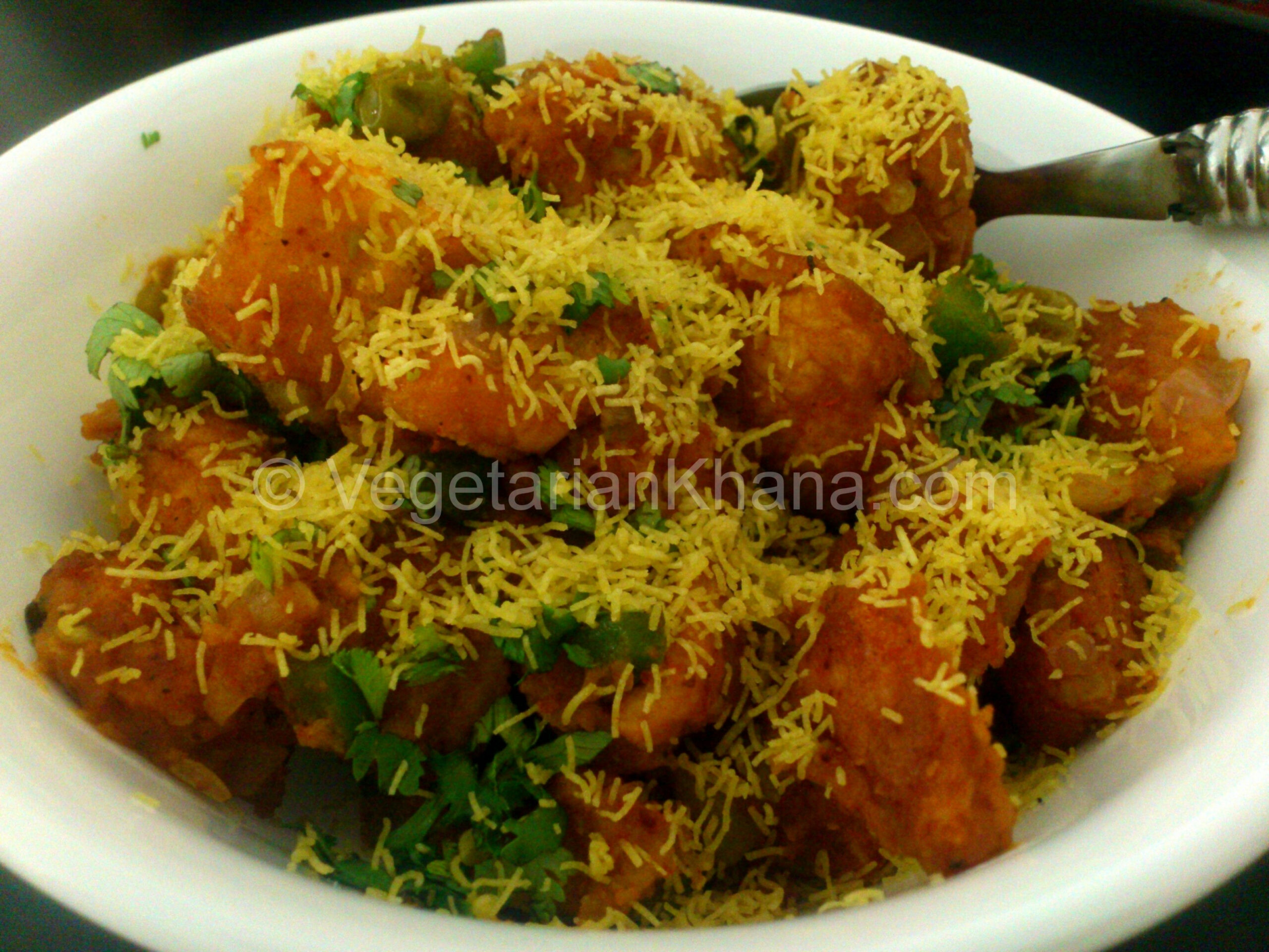 Manchurian Pav | HEALTHY VEGETARIAN RECIPES | Bread Snacks ..