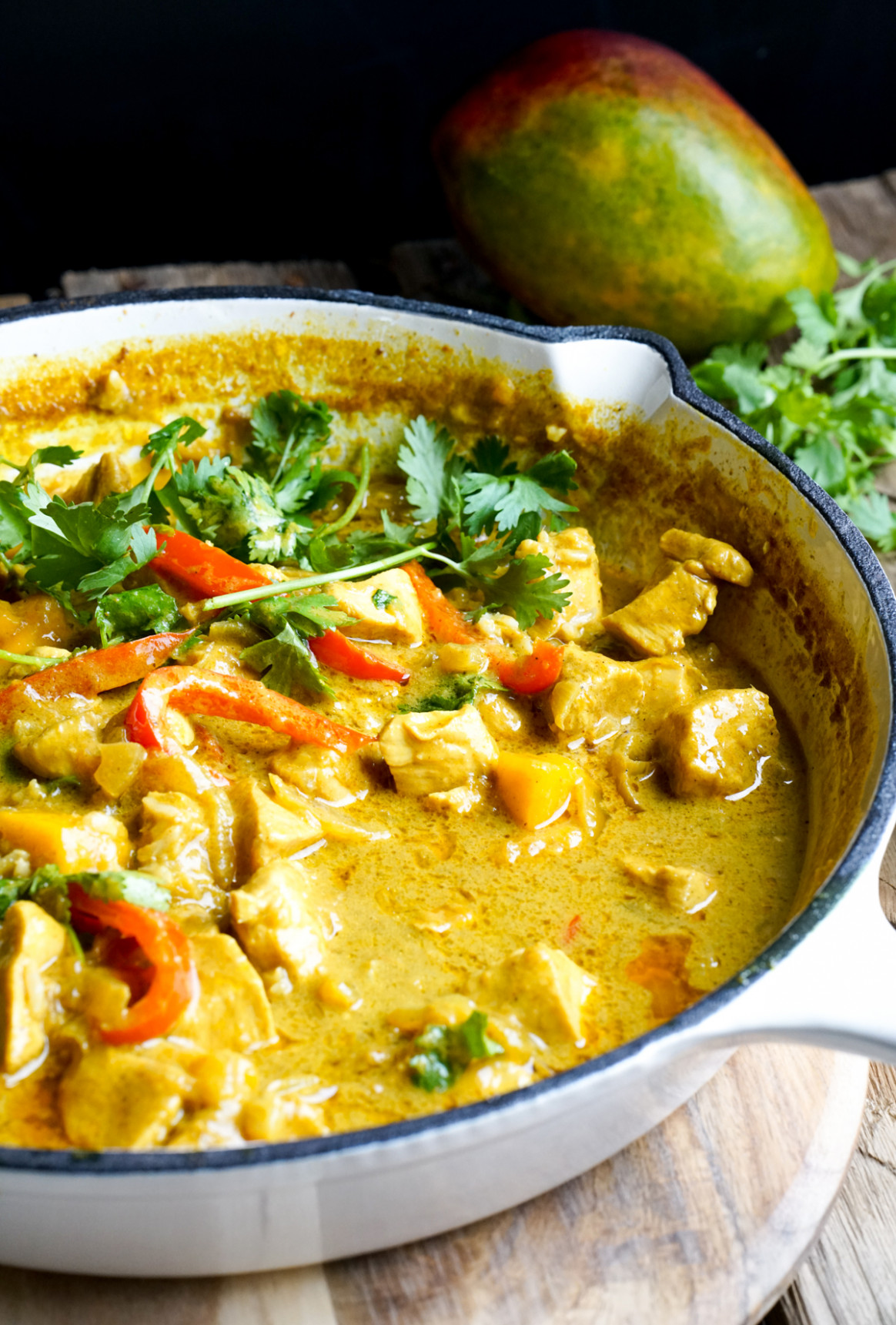 Mango Chicken Curry - chicken recipes curry