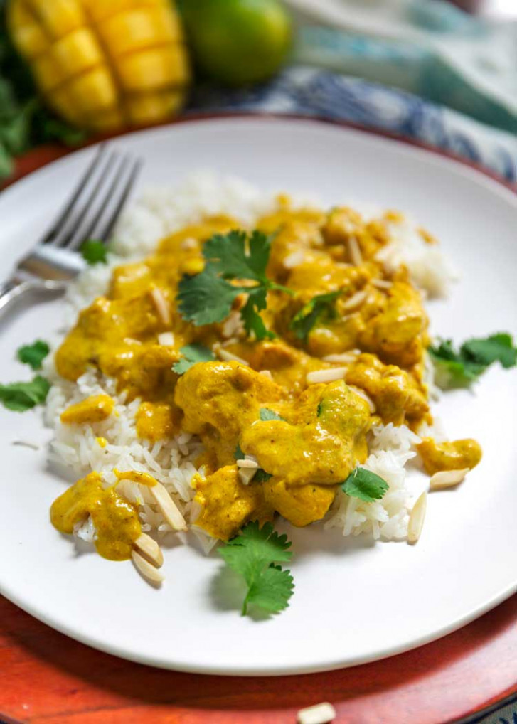 Mango Chicken Curry - Kevin Is Cooking - mango recipes dinner