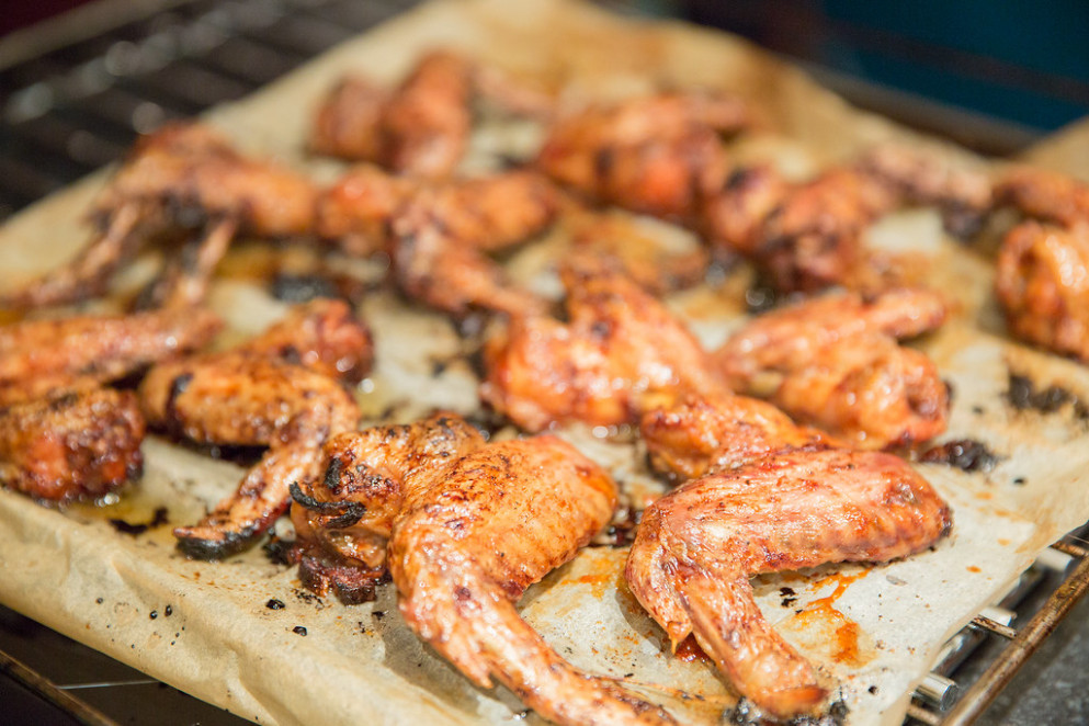 Maple and raspberry chicken wings - bbq recipes chicken