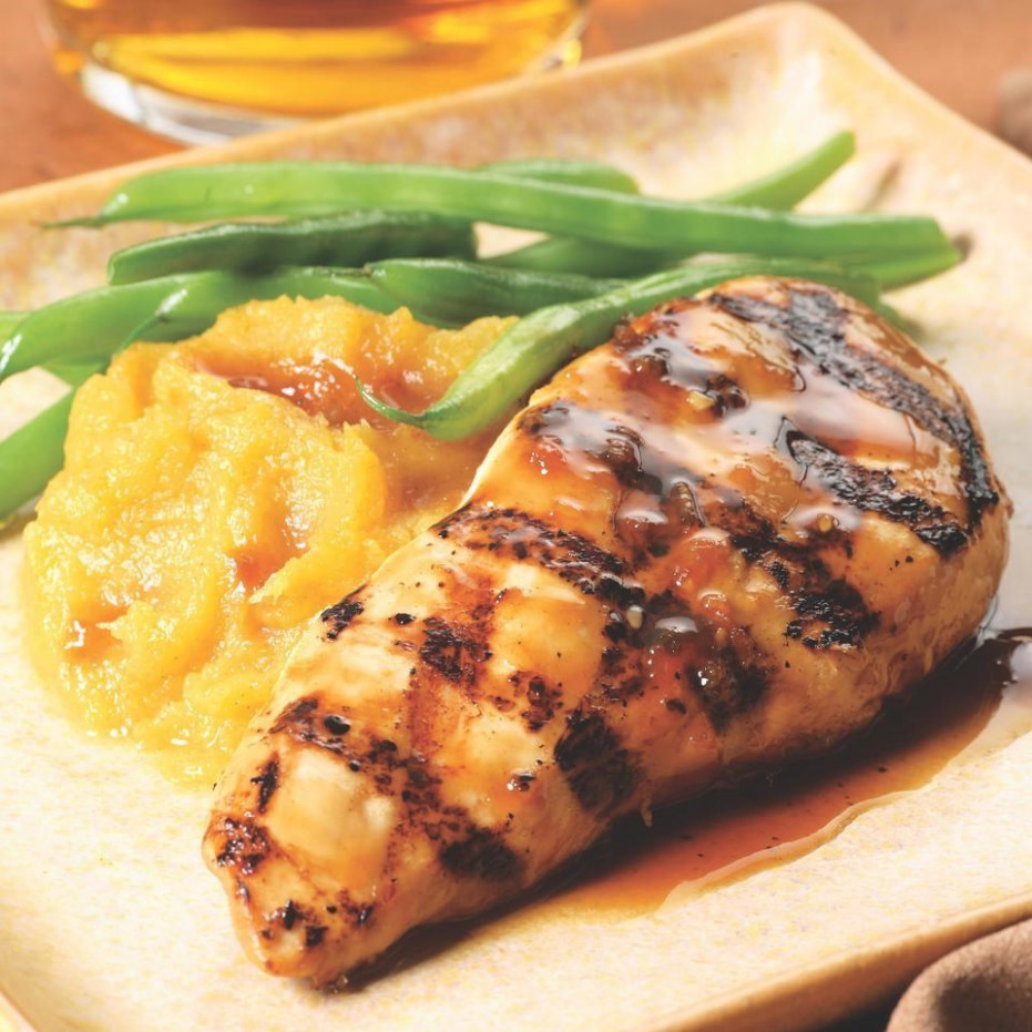 Maple-Glazed Chicken Breasts Recipe - EatingWell - food recipes with chicken breast