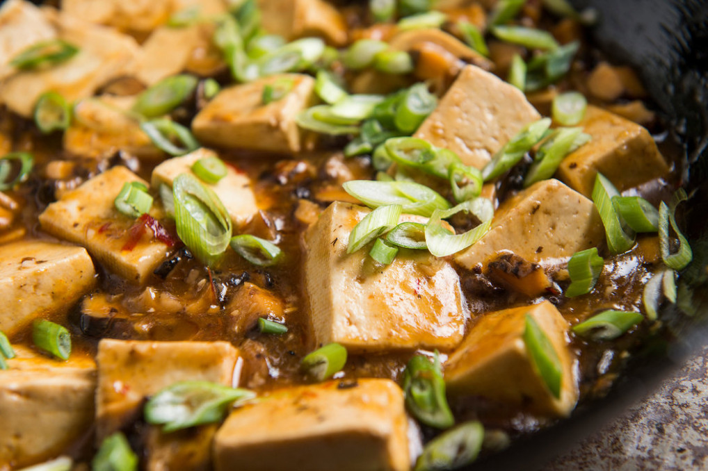Mapo Tofu Goes Vegetarian - The New York Times - recipes new vegetarian