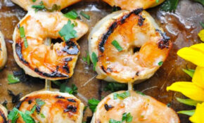Marinated Grilled Shrimp – The Seasoned Mom – Dinner Recipes Grill