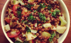Marinated Lentil Salad With Apple And Fennel – Jewish Food Recipes