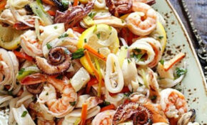 Marinated Seafood Salad Good For Health Party Menu Dinner ..