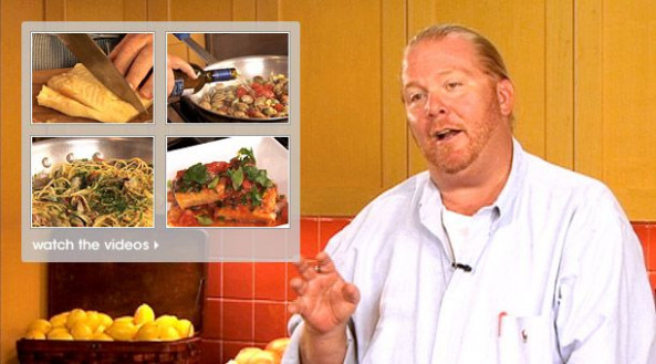 Mario Batali's Feast of the Seven Fishes Dinner | Holiday ..