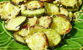 Mary's Zucchini With Parmesan Recipe – EatingWell – Healthy Zucchini Recipes Side Dish