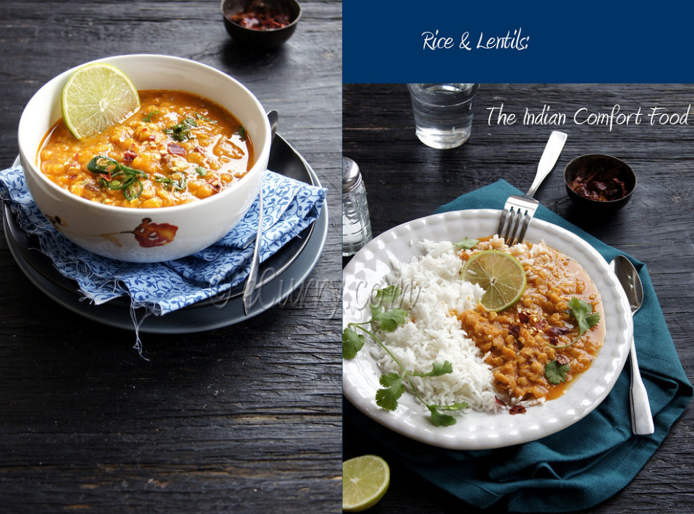 Masala Chana Dal Diptych 1 - recipes low carb vegetarian meals