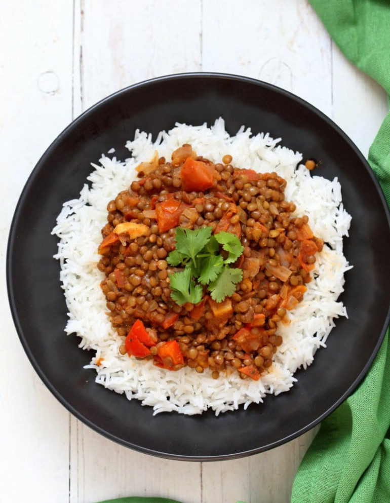 Masala Lentils From Vegan Richa's Indian Kitchen - Recipes For Indian Food