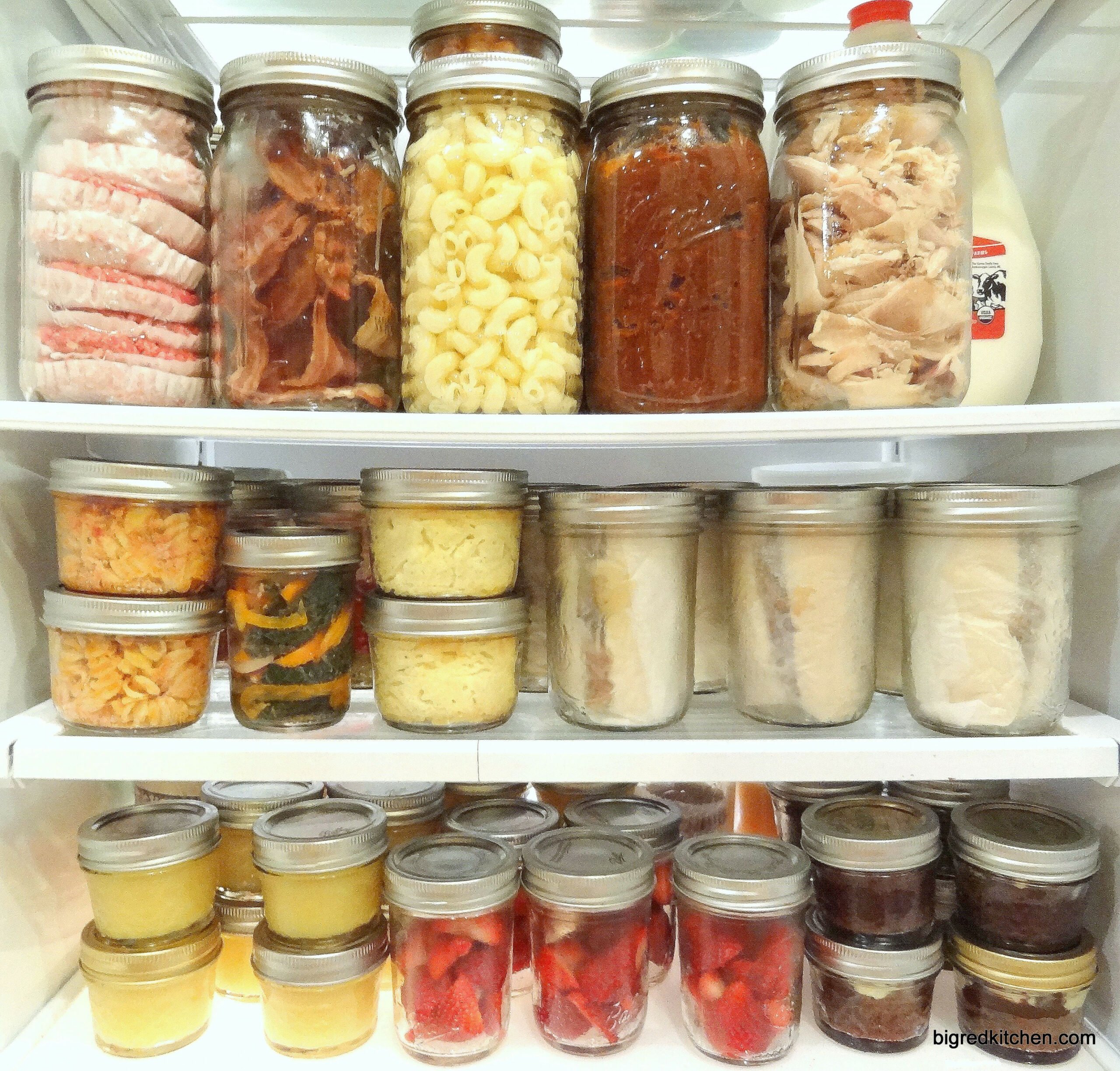 Mason Jar Meals - make ahead of time for the whole week ..