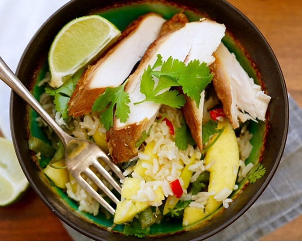 Matcha Chicken - healthy recipes with chicken breast