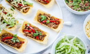 Matthew Tomkinson's Spicy Veggie Tacos With Guacamole – Tesco Recipes Vegetarian