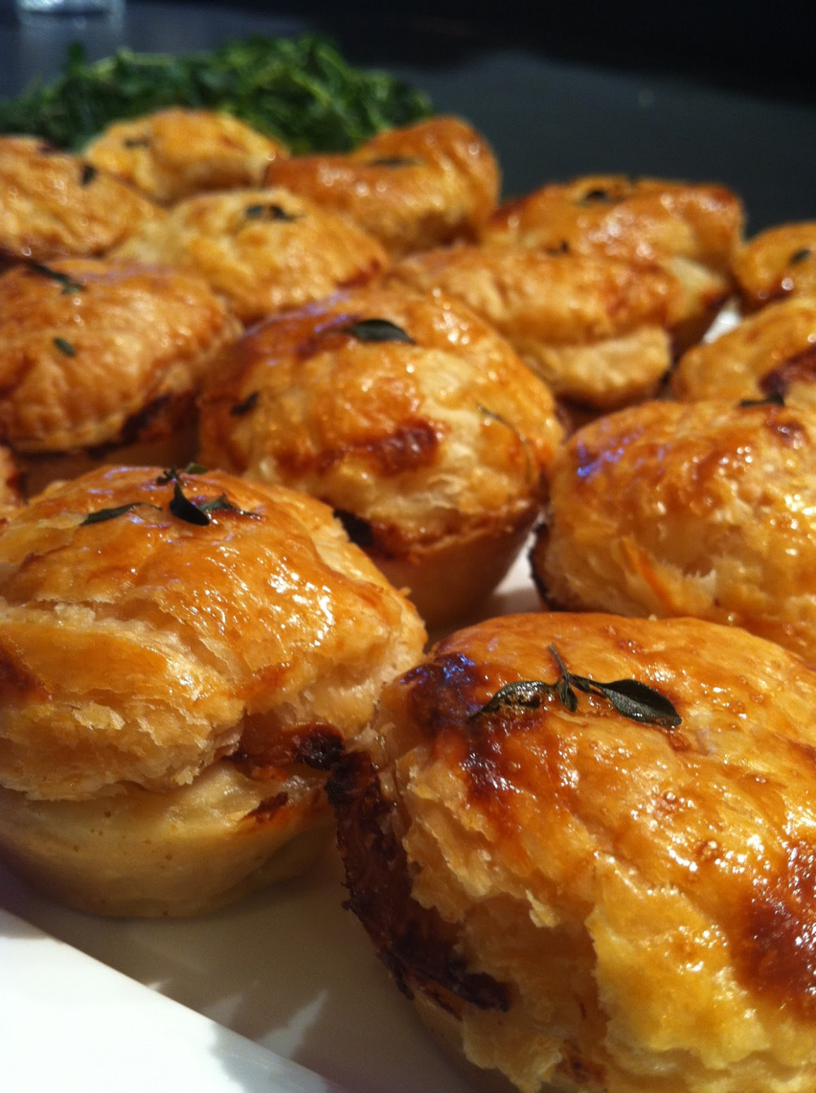 Maude and Betty: Little chicken and leek pies - chicken recipes australia