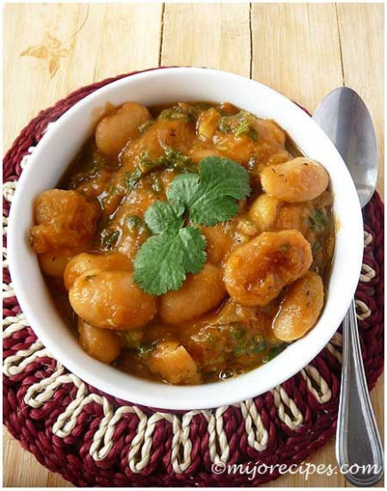 Mauritian Lima Beans Curry | Dinner - Indian Food In 2019 ..