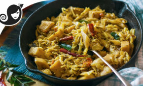 Mauritian Style Sautéed Cabbage With Potatoes [Touffer ..
