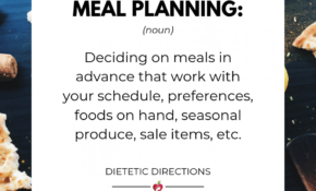 Meal Plan Planning Grocery Groceries Planner Healthy ..